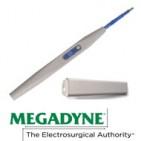 Kauterhandgriff mit modifizierter E-Z Clean Klingenelektrode, Wippschalter und Köcher