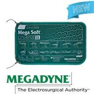 Wiederverwendbare Patienten Rückfluss Elektroden Mega SOFT® Universal Dualcord